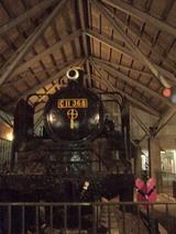 中野ゼロの蒸気機関車