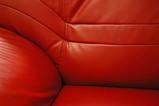 ソファの赤