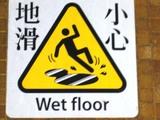 小心地滑。ちょっとうまく撮れなかったのが悔やまれる。