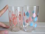 glass・ピンクと水色