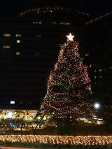 ホテルニューオータニのクリスマスツリーです