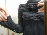 セーター完成1