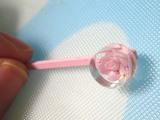 リンロン、ピンクの小花ちゃん♪