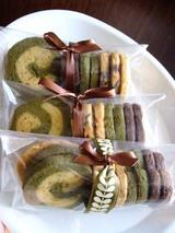 バレンタインクッキー、ギフト包装