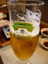 真菜板、生ビール