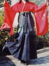 高校卒業式の袴ちゃん。