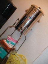 貯水タンク。地方都市の雑貨屋さんで購入。