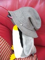 秋帽子、横