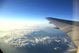 鹿児島上空