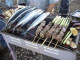 BBQ-生サンマ