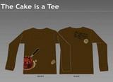 portal cake tee やべほしい