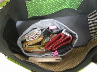 無印baginbagさらに大きなバッグにいれてみた