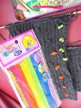 編み物小物、モール