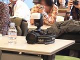 MacWorld2008報告会、写真部部長さんのカメラ