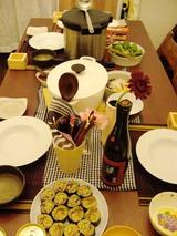 オトナの調理実習・食卓