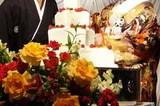 神戸wedding/和装でケーキカット